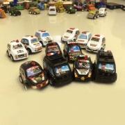 慣性車警車擺件玩具