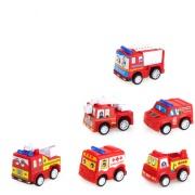 消防車公仔玩具擺件
