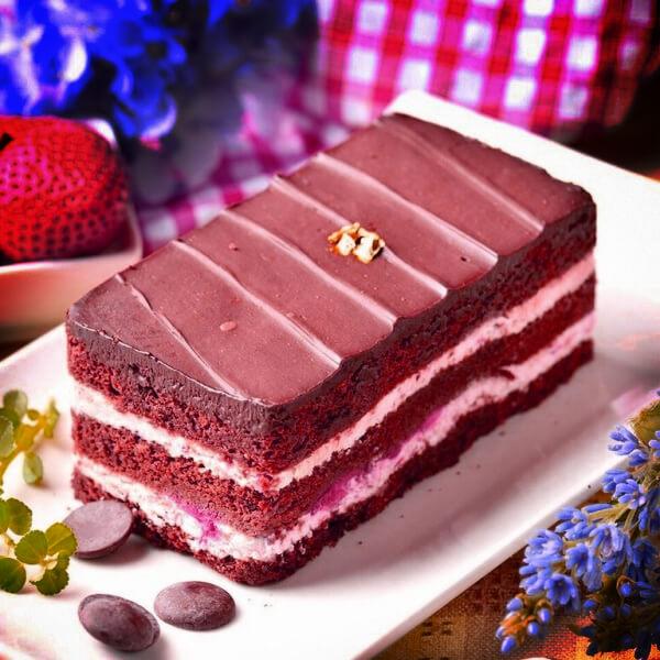 百香 百香,草莓黑金磚巧克力蛋糕,