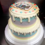 雙層蛋糕 , 與手工甜點對話的SUSAN, dessert365, 漫漫手工甜點市集, 幼稚園慶生, 冰淇淋蛋糕, 法式甜點, 卡通蛋糕, 彩虹蛋糕, 寶寶蛋糕, 公主蛋糕, 生日蛋糕, 手工甜點, 宅配蛋糕, 週歲蛋糕, 母親節蛋糕, 父親節蛋糕, susan冰淇淋蛋糕評價, 彌月蛋糕, 慕斯蛋糕