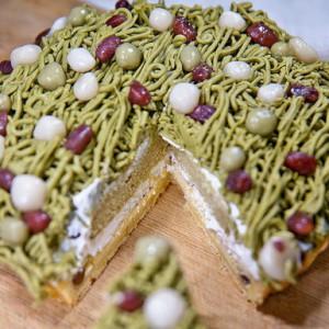 DESSERT365, 找甜甜網 ,與手工甜點對話的Susan, Susan's Kitchen, 「SUSAN 旗艦塔」宇治抹茶拿鐵布蕾蒙布朗佐白玉紅豆塔