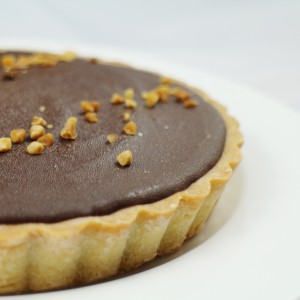 PrinXure, 漫漫手工客製化市集, 客製化, 插畫, 烘焙, 預約日期訂購手工甜點, 手工甜點, 森之心, 森林香蕉巧克力塔