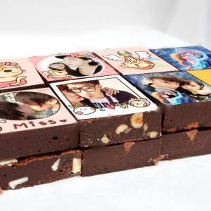 PrinXure 藝術妳的客製禮品 by 10,000名插畫角色的貼圖&外筐,客製化照片手工布朗尼,