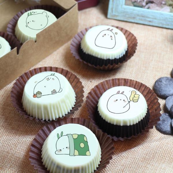 susan susan,巧克力包膜Oreo餅乾 ( 附贈禮盒,適合與同事朋友家人分享一起吃 ) [ 可選駐站1,000名港台知名插畫家設計的主題, 也可另外客製化卡通圖案 ],