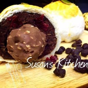 susan susan,佳節伴手禮 - 金莎榛果巧克力酥 ( 有6入、8入、12入 禮盒包裝3種 ),