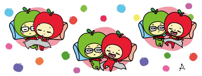 大蘋頭小蘋頭, DESSERT365, 找手工甜甜網, 漫漫手工客製化市集, PrinXure, 拍洗社, 插畫家, 插畫角色, PrinXure,