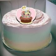香游氏,生日大快樂 ( 圖案可以吃喔!) 手工冰淇淋千層蛋糕 (唯一可全台宅配冰淇淋千層蛋糕) ( 可勾不要冰淇淋, 也可勾要冰淇淋 )[ designed by 香游氏 ],