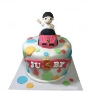 A++ handmade 翻糖蛋糕 A++ handmade 翻糖蛋糕,客制化小朋友生日款,