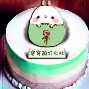 糖水舖 糖水舖,夢想成真~~冰淇淋彩虹水果蛋糕  [ designed by 糖水舖 ],