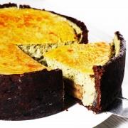 susan susan,冰火半熟乳酪燒 ( 冷藏與加熱有不同風味),