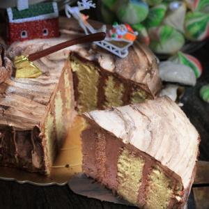 susan susan,榛果巧克力年輪樹木蛋糕,