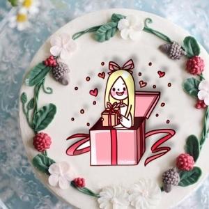 Lemon, 冰淇淋彩繪蛋糕, 手工甜點,PX漫漫手工甜點市集, PX, 百萬LINE明星,甜點表心意, PrinXure, 客製化, 插畫, LINE, 百萬LINE明星陪你吃蛋糕, 漫漫手工市集, PrinXure, 拍洗社, 插畫家, 插畫角色, 布朗尼, PrinXure, 餅乾, 拍立得造型, 禮物, DESSERT365, 找甜甜網