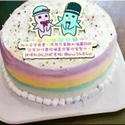 外星mo,( 圖案可以吃喔!) 手工冰淇淋千層蛋糕 (唯一可全台宅配冰淇淋千層蛋糕) ( 可勾不要冰淇淋, 也可勾要冰淇淋 ) [ designed by 外星mo ],