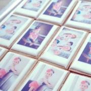 拍立得造型照片餅乾, 拍立得造型餅乾, 拍立得, 照片餅乾, 收涎餅, 彌月, PrinXure, 漫漫手工客製化市集, 客製化, 插畫, 烘焙, 預約日期訂購手工甜點, 手工甜點, PrinXure, 拍洗社, 插畫家, 插畫角色