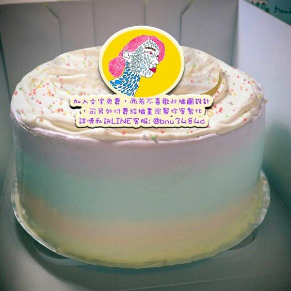 Amour Amour,( 圖案可以吃喔!) 手工冰淇淋千層蛋糕 (唯一可全台宅配冰淇淋千層蛋糕) ( 可勾不要冰淇淋, 也可勾要冰淇淋 ) [ designed byAmour],