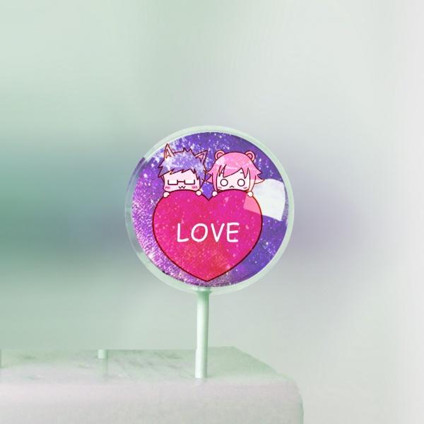 米血熊,I Love You Forever ♥ 美國熱銷星空棒棒糖 [ designed by 米血熊],
