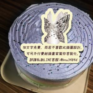 應果 應果,( 圖案可以吃喔!) 手工Semifreddo義大利彩虹水果蛋糕 (唯一可全台宅配冰淇淋蛋糕) ( 可勾不要冰淇淋, 也可勾要冰淇淋 ) [ designed by 應果],