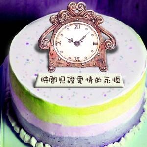 童話工坊 童話工坊,母親節快樂! ( 圖案可以吃喔!)冰淇淋彩虹水果蛋糕 [ designed by 童話工坊 ],