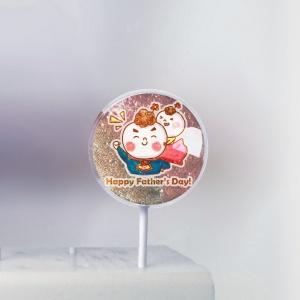 J.HO J.HO,母親節快樂 ( 圖案可以吃喔!) 冰淇淋彩虹水果蛋糕 [ designed by J.HO ],