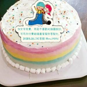 雨天,想陽光 雨天,想陽光,( 圖案可以吃喔!)手工冰淇淋千層蛋糕 (唯一可全台宅配冰淇淋千層蛋糕) ( 可勾不要冰淇淋, 也可勾要冰淇淋 ) [ designed by 雨天,想陽光 ],