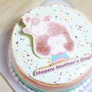 小賴&ㄆㄓ 小賴&ㄆㄓ,啾咪!  ( 圖案可以吃喔!)冰淇淋彩虹水果蛋糕 [ designed by 小賴&ㄆㄓ ],插畫家, 冰淇淋, 慕斯, 彩虹蛋糕, 與手工甜點對話的Susan, 奶霜彩繪蛋糕, 手工甜點,PX漫漫手工市集, PX, 百萬LINE明星,甜點表心意, PrinXure, 客製化, 插畫, LINE, 百萬LINE明星陪你吃蛋糕, 漫漫手工市集, PrinXure, 拍洗社, 插畫家, 插畫角色, 布朗尼, PrinXure, 餅乾, 拍立得造型, 禮物, DESSERT365, 找甜甜網