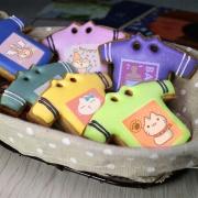 不屑貓 不屑貓,Tandora收涎餅乾 ( 12片1盒、含紅線&穿洞 )  [ designed by 不屑貓 ],