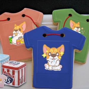 jcccjia@gmail.com,Tandora收涎餅乾 ( 附贈禮盒 )(收涎保孩子衣食無缺) ( 12片1盒、含紅線&穿洞 )  [ designed by 椪妹與柯基犬 ],