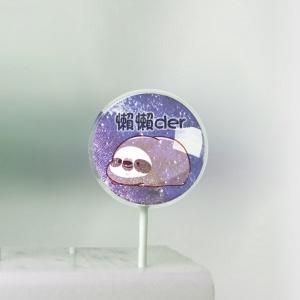 CTONEDAY,七夕快樂~~ ( 圖案可以吃喔!)冰淇淋彩虹水果蛋糕 [ designed by 萌丸],