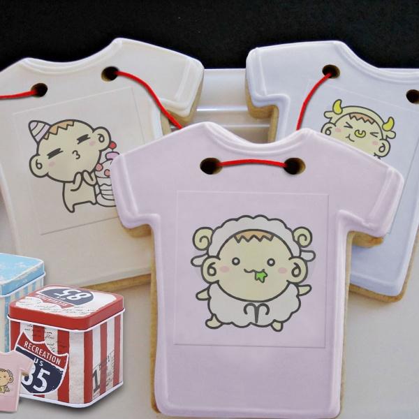檸檬達,Tandora收涎餅乾 ( 12片1盒、含紅線&穿洞 )  [ designed by 檸檬達 ],