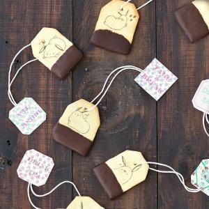 糖水舖,嘴饞系列 - 茶包巧克力餅乾 [ designed by 糖水舖 ],漫漫手工甜點市集, PX, 插畫家, LINE, 插畫, 造型甜點, 造型蛋糕, 客製化, 零食