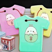 糖水舖,Tandora收涎餅乾 ( 12片1盒、含紅線&穿洞 )  [ designed by 糖水舖 ],
