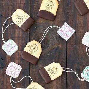 茶里,嘴饞系列 - 茶包巧克力餅乾 [ designed by 茶里 ],漫漫手工甜點市集, PX, 插畫家, LINE, 插畫, 造型甜點, 造型蛋糕, 客製化, 零食