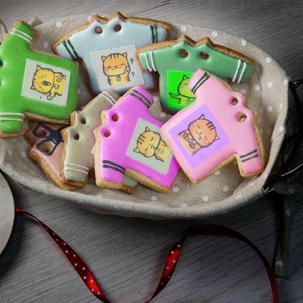 ORECAT我是貓,Tandora收涎餅乾 ( 12片1盒、含紅線&穿洞 )  [ designed by orecat我是貓  ],