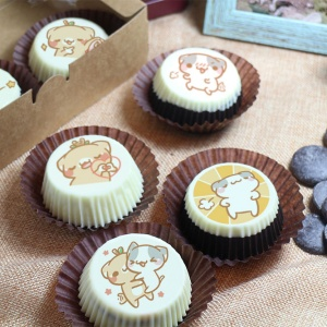 是貓貓來了 是貓貓來了,巧克力Oreo餅乾 ( 附贈禮盒,適合與同事朋友家人分享一起吃 ) [ designed by 是貓貓來了 ],