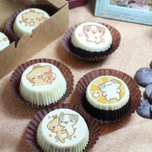 是貓貓來了 是貓貓來了,嘴饞系列 - 巧克力包膜Oreo餅乾 [ designed by 是貓貓來了 ],