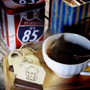 tinas22404752,嘴饞系列 - 茶包巧克力餅乾 ( 附贈禮盒,適合與同事朋友家人分享一起吃 ) [ designed by PinkCat小儀 ],