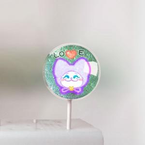 Sitara,爸爸節快樂!  ( 圖案可以吃喔!) 冰淇淋彩虹水果蛋糕 [ designed by Sitara ],
