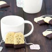 捏嘴巴 捏嘴巴,嘴饞系列 - 茶包巧克力餅乾 [ designed by 捏嘴巴 ],