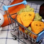 Tata 啾戀喵,蘿蔔起司餅乾 ( 類似小時候的小熊餅乾文青款) ( 附贈禮盒,適合與同事朋友家人分享一起吃 )  [ designed by Tata啾戀喵 ],