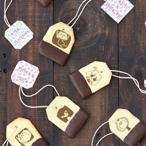 Kira樂叻樂 Kira樂叻樂,嘴饞系列 - 茶包巧克力餅乾 [ designed by Kira樂叻樂 ],