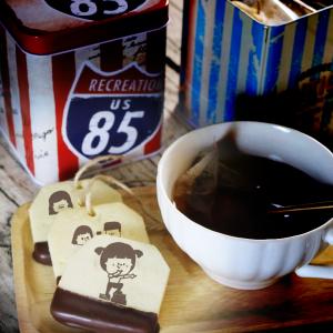 腳ㄚㄚ, 茶包巧克力餅乾, 手工甜點,PX 漫漫手工甜點市集, PX, 百萬LINE明星,甜點表心意, PrinXure, 客製化, 插畫, LINE, 百萬LINE明星陪你吃蛋糕, 漫漫手工市集, PrinXure, 拍洗社, 插畫家, 插畫角色, 布朗尼, PrinXure, 餅乾, 拍立得造型, 禮物, DESSERT365, 找甜甜網