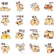 不屑貓 不屑貓,嘴饞系列 - 茶包巧克力餅乾 [ designed by 不屑貓  ],