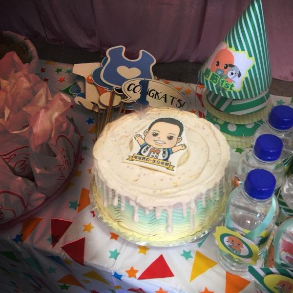 不屑猫q版_彩虹水果蛋糕 ( 下方可勾选不做冰淇淋变成