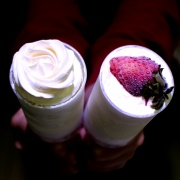 susan susan,冰淇淋彩虹水果蛋糕__推推杯 ( 杯子蛋糕一種 ) (唯一可全台宅配冰淇淋蛋糕) ( 可勾不做冰淇淋、也可做冰淇淋),
