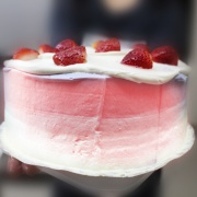 susan susan,草莓炸彈套餐_彩虹水果蛋糕系列 ( 下方可勾選不做冰淇淋變慕斯、也可做冰淇淋),
