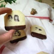 茶包餅乾, 巧克力餅乾, 插畫, PX漫漫手工甜點市集, 與手工甜點對話的Susan