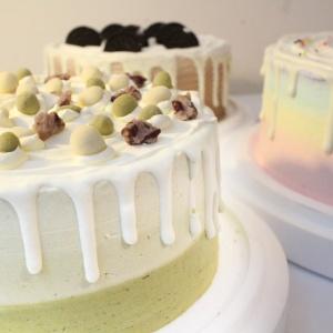susan susan,冰淇淋彩虹水果蛋糕__抹茶白玉紅豆品茗  (唯一可全台宅配冰淇淋蛋糕) ( 可勾不做冰淇淋、也可做冰淇淋),
