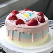 susan susan,365天都有__草莓炸彈套餐_彩虹水果蛋糕系列 ( 下方可勾選不做冰淇淋變慕斯、也可做冰淇淋),