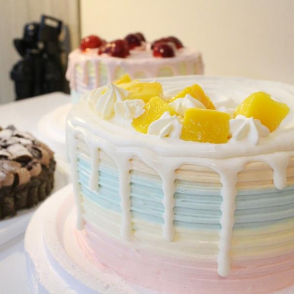 susan susan,芒果百香盛典(365天均有)____彩虹水果蛋糕系列 ( 下方可勾選不做冰淇淋變慕斯、也可做冰淇淋),
