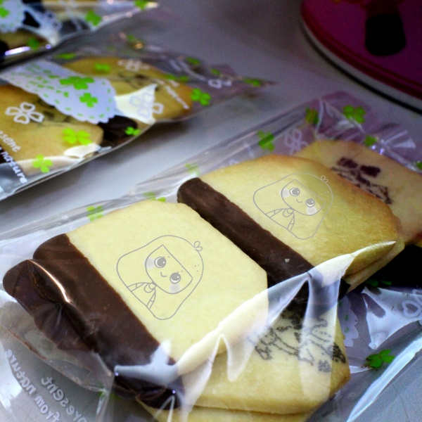 ni.how_art,嘴饞系列 - 茶包巧克力餅乾 [ designed by 児好 ],
